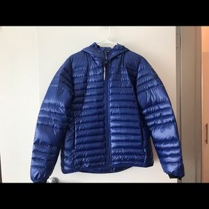 adidas outdoor down jacket NEW